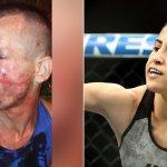 強盗「若い女を狙ったら元柔術世界王者、現役UFCファイターだったでござる」