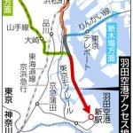 ついにJRが羽田空港に乗り入れ 東京駅〜羽田が18分、新宿駅〜羽田が23分、乗り換えなし